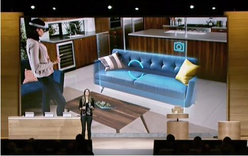 Очки Майкрософт Hololens помогут оказаться внутри будущего интерьера!